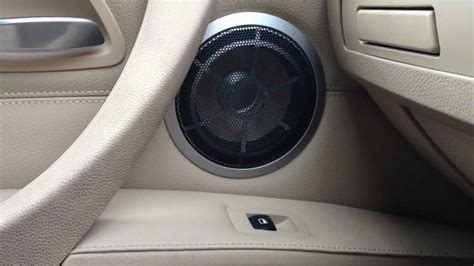 BMW 335D Individual High End Audio - YouTube