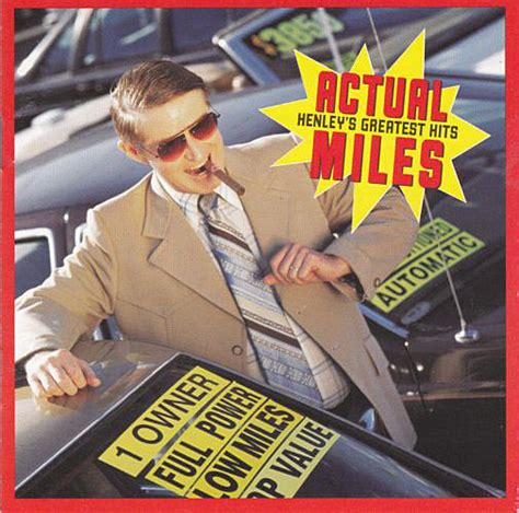 Don Henley - Actual Miles (Henley's Greatest Hits) (CD