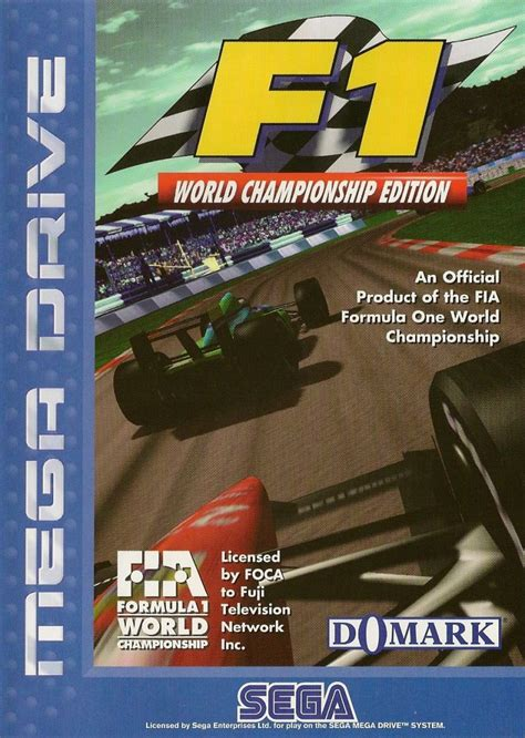 F1: World Championship Edition for Genesis (1995) - MobyGames