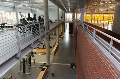 State Gym construction is in the home stretch   Inside