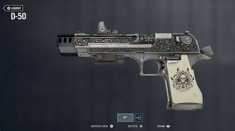 D-50 w/ Muzzle Brake, Holo, Laser and my favorite skin