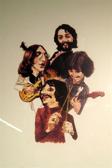 NYC - Chelsea Market - The Beatles caricature | With the