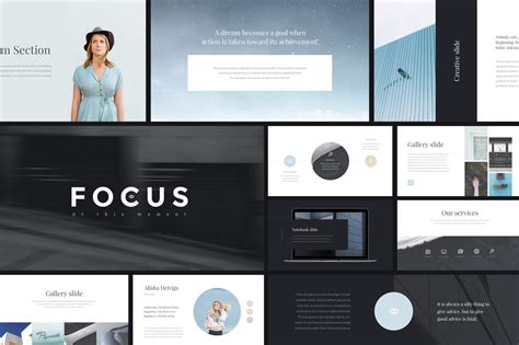 Focus PowerPoint Template + GIFT ~ PowerPoint Templates