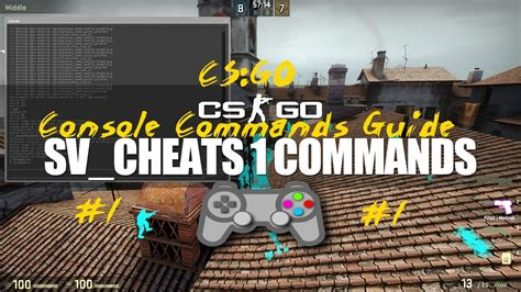 CS GO Console Commands Guide #1 for Practice/Konsol