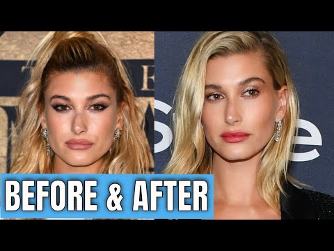 Hailey Baldwin shows off cleavage in bustier for LOVE