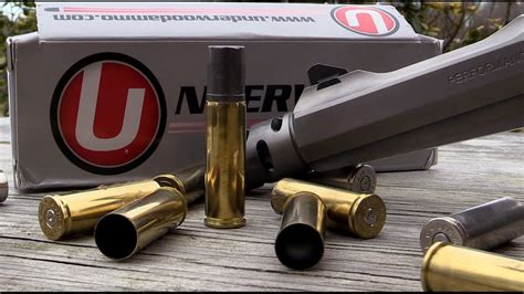 Shooting the 700 grain Underwood Ammo from the 500 S&W