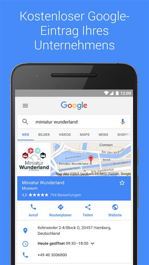 Google My Business – Android-Apps auf Google Play