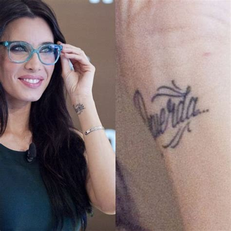 Pilar Rubio's Tattoos & Meanings | Steal Her Style