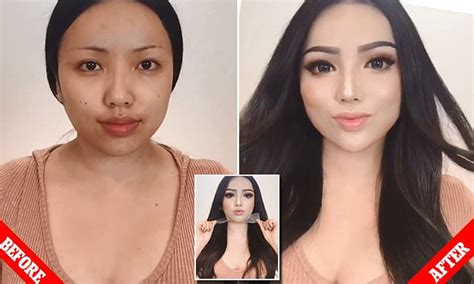 Prosthetic makeup is 'DIY plastic surgery' trend going