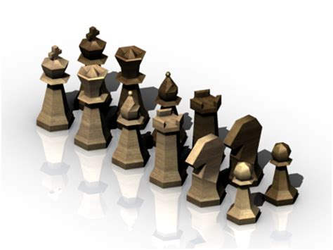 Chess Pieces | OpenGameArt