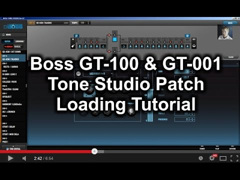 BOSS GT-100 with Fx Floor Board Simple Demo - YouTube