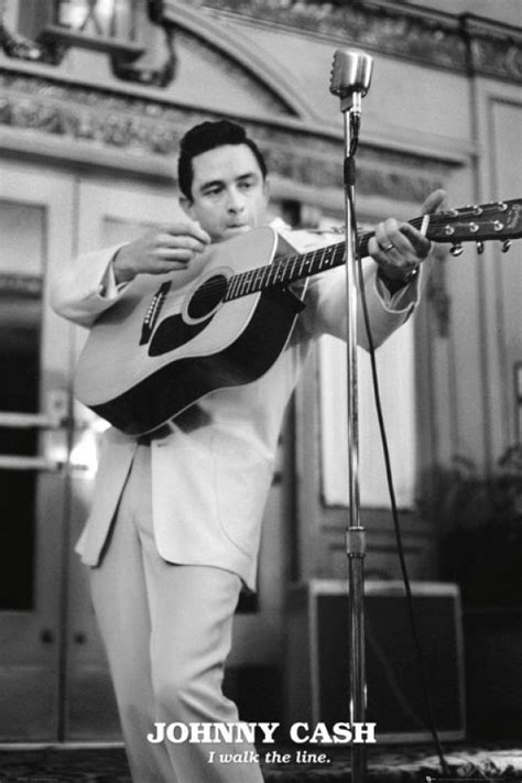 Johnny Cash posters - Johnny Cash Walk The Line poster
