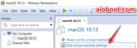 How to install macOS Mojave on VMware Workstation