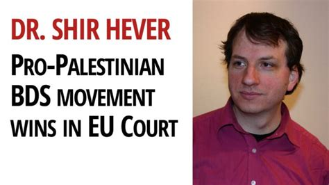 Pro-Palestinian BDS Movement Wins in Human Rights Court