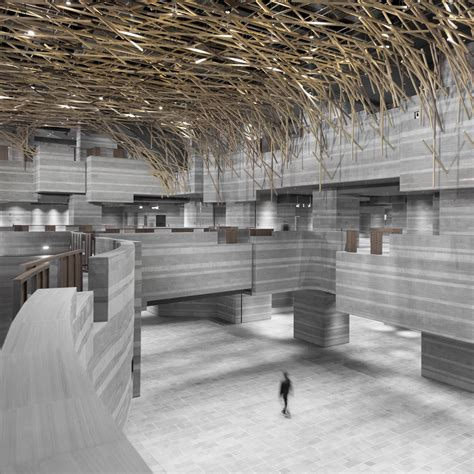The Hub Performance and Exhibition Center / Neri&Hu Design