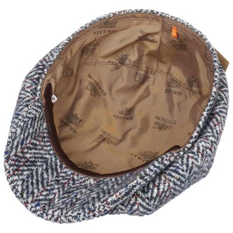 Hatteras Historical Sixties Flatcap by Stetson - 119,00