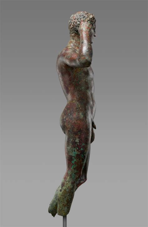 Statue of a Victorious Youth (Getty Museum)