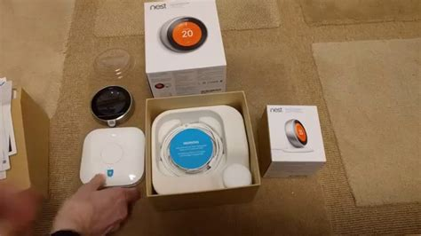 Nest Learning Thermostat 3rd Gen UK unboxing - YouTube