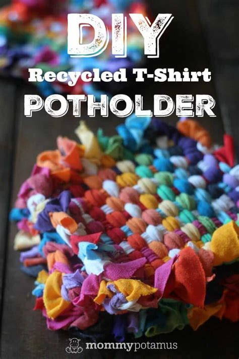 How To Make Potholders From Recycled T-Shirts