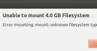 How to mount ExFAT file system on Ubuntu or Linux Mint