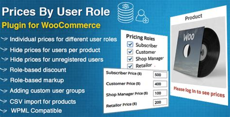 Prices By User Role for WooCommerce   Woocommerce, Plugins