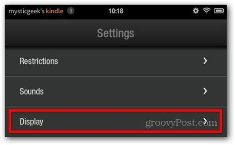 How To Adjust the Kindle Fire Screen Timeout
