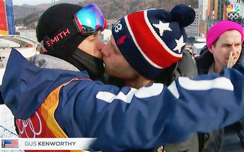 'Love is love': US Olympic skier 'so happy' that candid