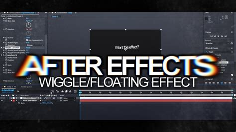 After Effects   Wiggle/Floating Effect Tutorial! - YouTube