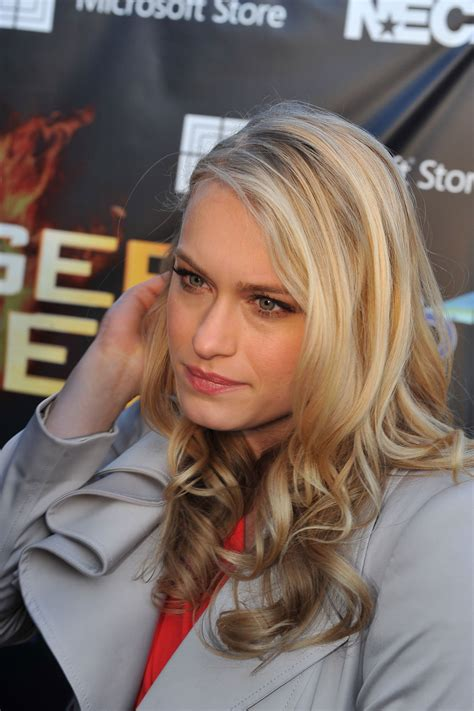 Leven Rambin at The Hunger Games National Mall Tour