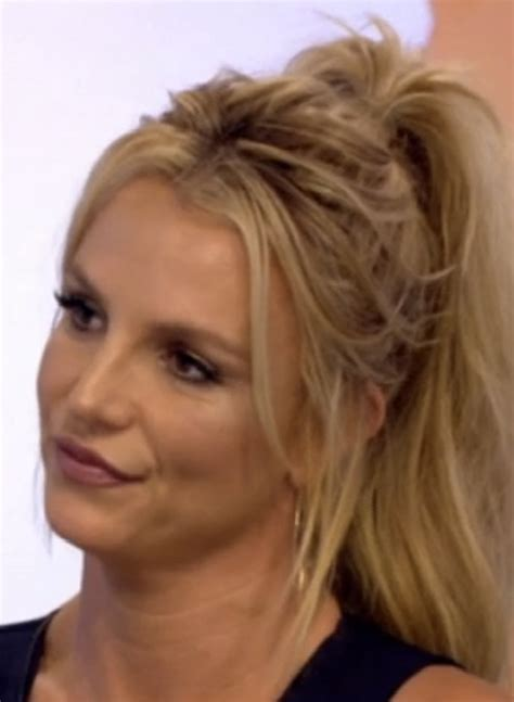 What has Britney Spears done to her face?